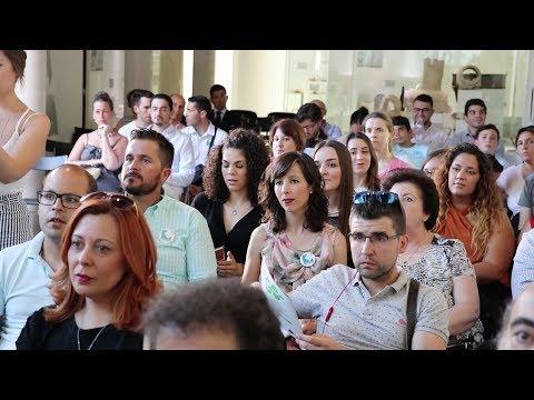 VÍDEO: Dieciséis emprendedores concluyen su paso por el Coworking EOI Lucena con David Meca como padrino