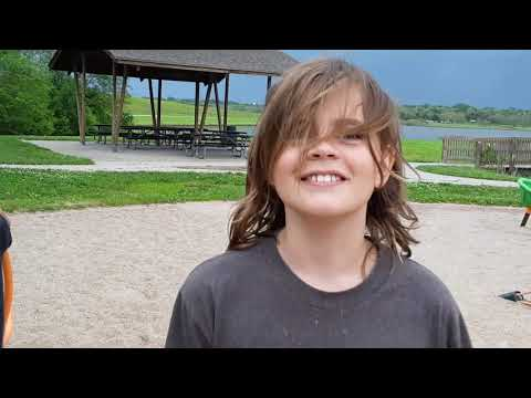 Zorinsky Lake Park inclusive playground, Omaha, Nebraska, rated nine, ten