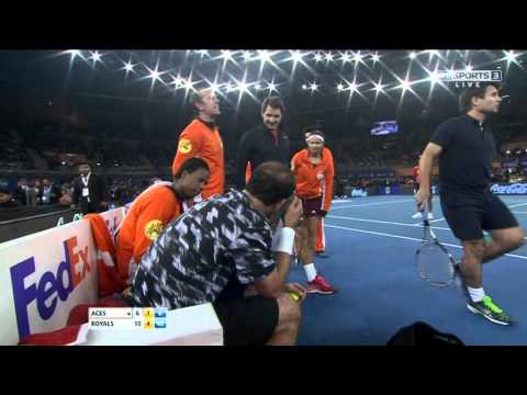 IPTL 2014 New Delhi : Indian Aces V UAE Royals