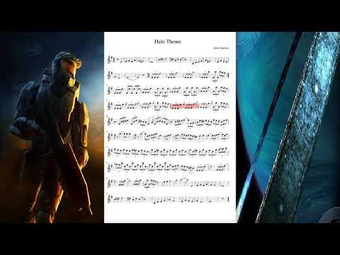 Halo theme en violin