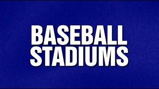 Baseball Stadium Category on Jeopardy! thumbnail