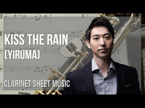 EASY Clarinet Sheet Music: How to play Kiss the Rain by Yiruma