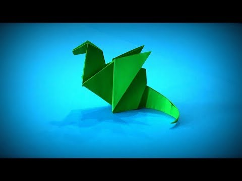 How to Make a Paper Dragon DIY - Easy Origami ART