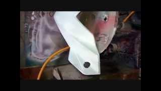 Airbrush Grafis Kepala Honda Beat