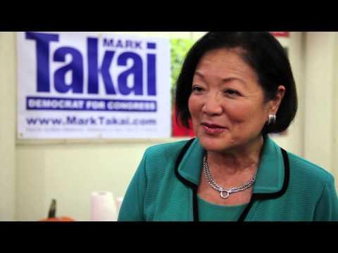 Senator Hirono & Mark Takai