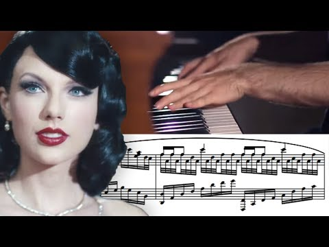 Taylor Swift  Wildest Dreams Advanced Piano Solo with Sheet Music