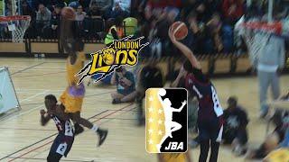 London Lions vs JBA USA Big Baller Brand Clash - Highlights! LaMelo Ball 42 Point Triple Double!