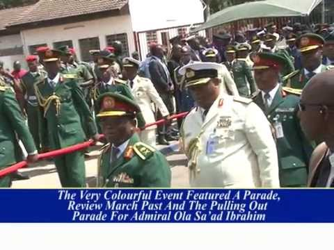 Swearing In Service Chiefs and Pulling Out Defence Staff