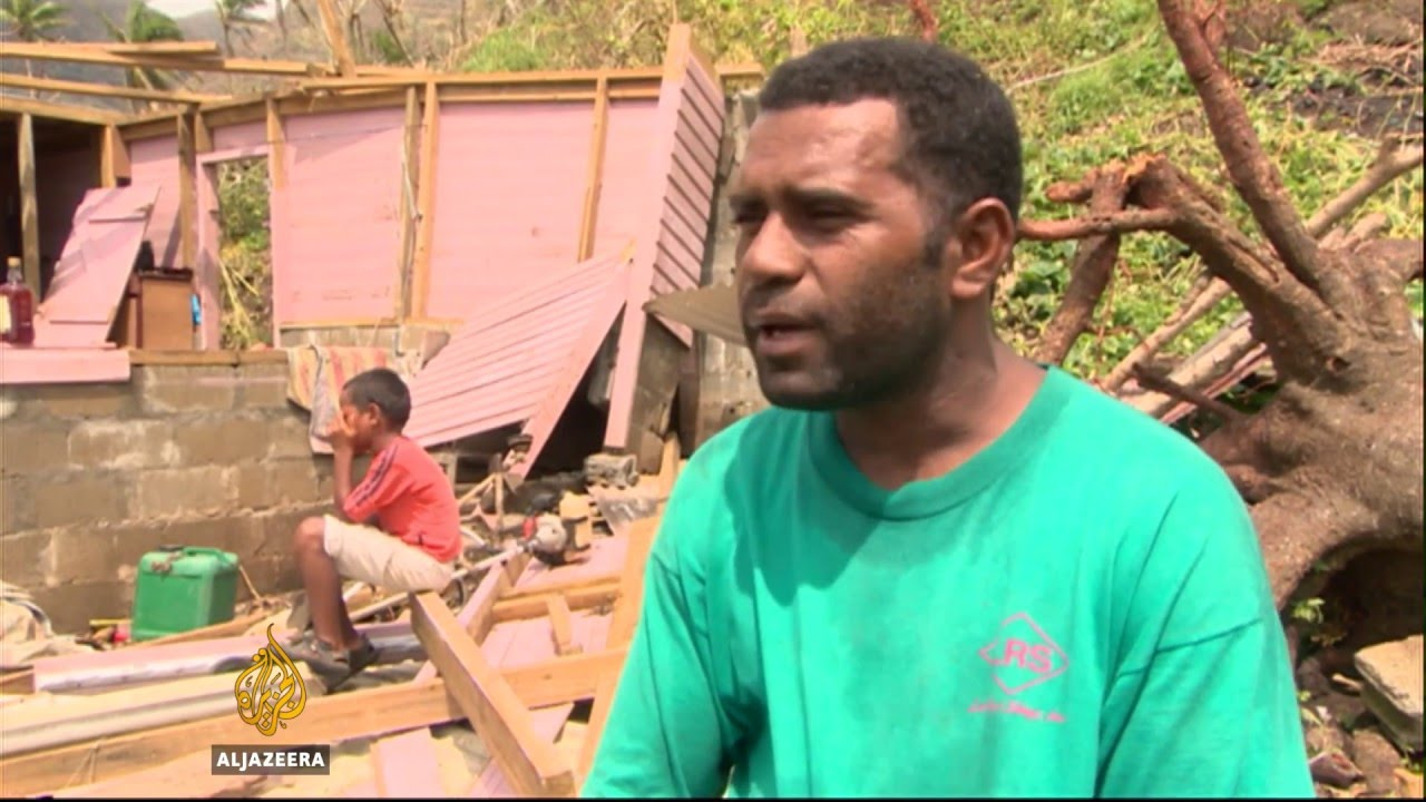 Fiji struggles to recover after record-breaking cyclone