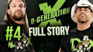 WWE 12 Story Mode - Entire D-Generation X Story #4 (Custom Story)
