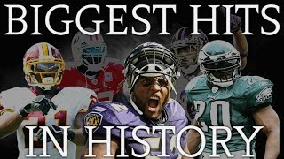 Biggest Hits in NFL History ¦ (HD)