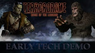 Terrordrome: Reign of the Legends - Early Tech demo