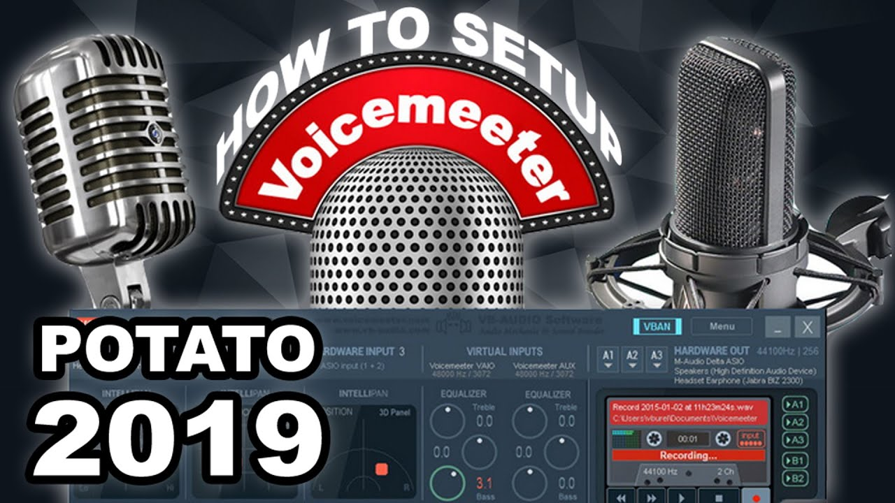 How To Setup Voicemeeter Banana Correctly!!! (2019)