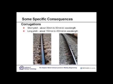 2014 Stephen Marich Lecture in Railway Engineering - Mr. Stephen Marich