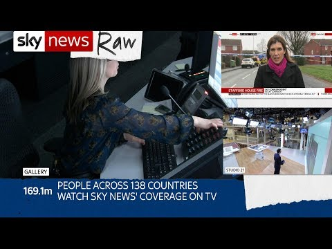 Best bits: Sky News went raw for it's 30th birthday