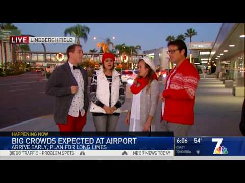 Holiday Hipsters on NBC San Diego!