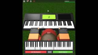 We Are Number One but on a ROBLOX piano. [Revamped]