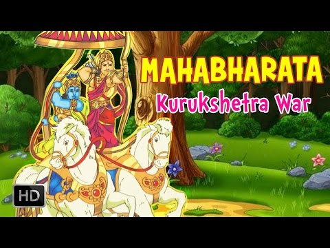 Mahabharata (The Epic) - Kurukshetra War - Full Animated Movie - Stories for Children