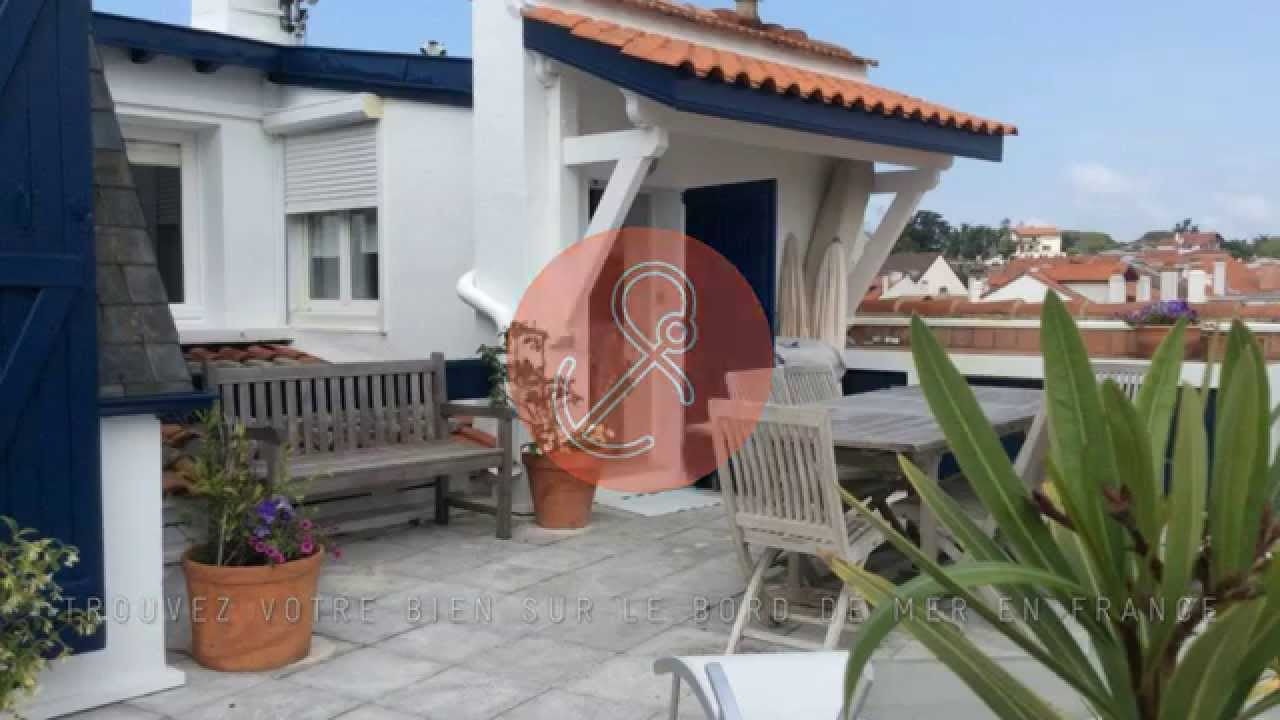 Vente appartement toit terrasse t4 70m2 saint jean de luz for Appartement toit terrasse