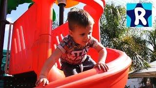 ★ Играем на Детской Площадке Пингвин Челенж Playground Fun Play Place for Kids playroom