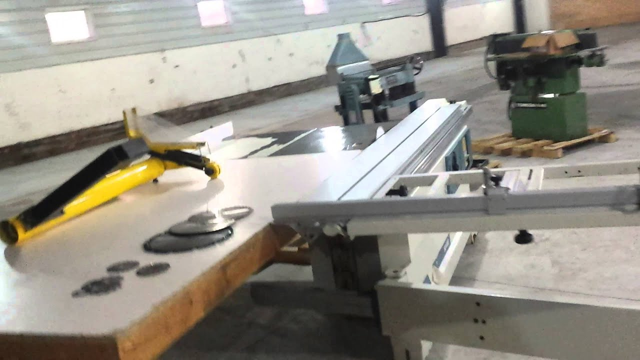 Scm minimax SC4WC sliding table saw for sale