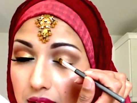 Traditional Indian Pakistani Bridal Makeup Tutorial Youtube