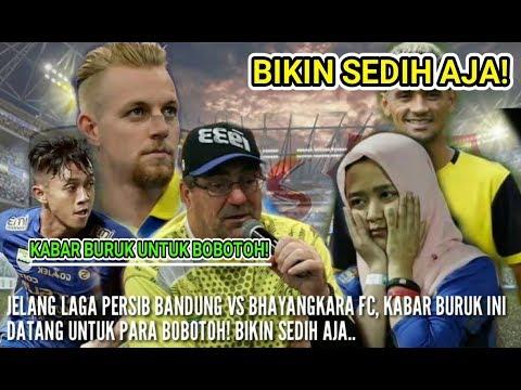 Berita Persib 201019/Kabar Buruk Untuk Bobotoh Jelang Laga Persib VS Bhayangkara FC/Calon Wasit