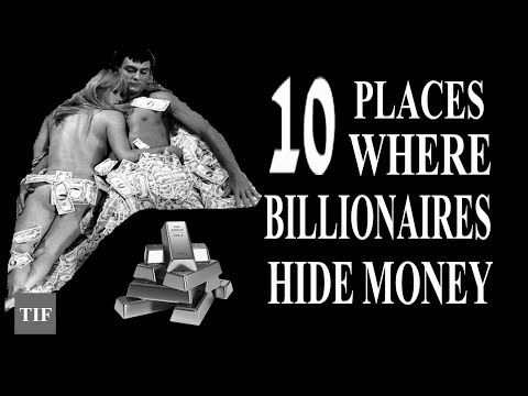 Top 10 places where billionaire hide there money| Tax haven in the world