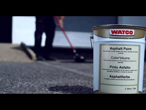 How to paint asphalt or tarmac | Watco