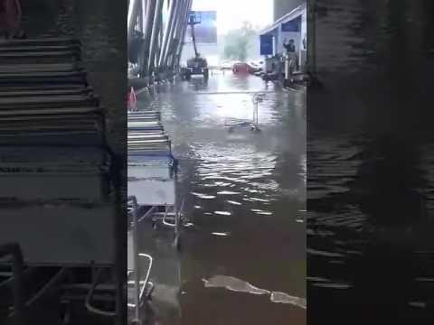 Flood & Water log @ Sardar Patel Airport. Ahmedabad (Gujarat)