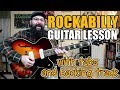 A Great Rockabilly Solo W/Jazz & Jump Blues Influences - Guitar Lesson W/tabs