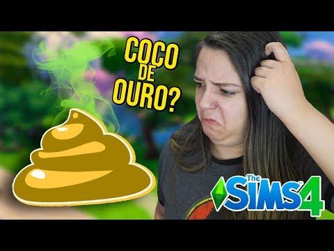 MEU GATO FEZ UM COCO DE OURO! - The Sims 4 Estações