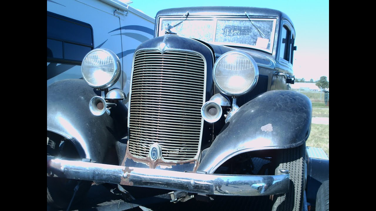 1932 Desoto Four Door Sedan Blu Zh110912 Youtube