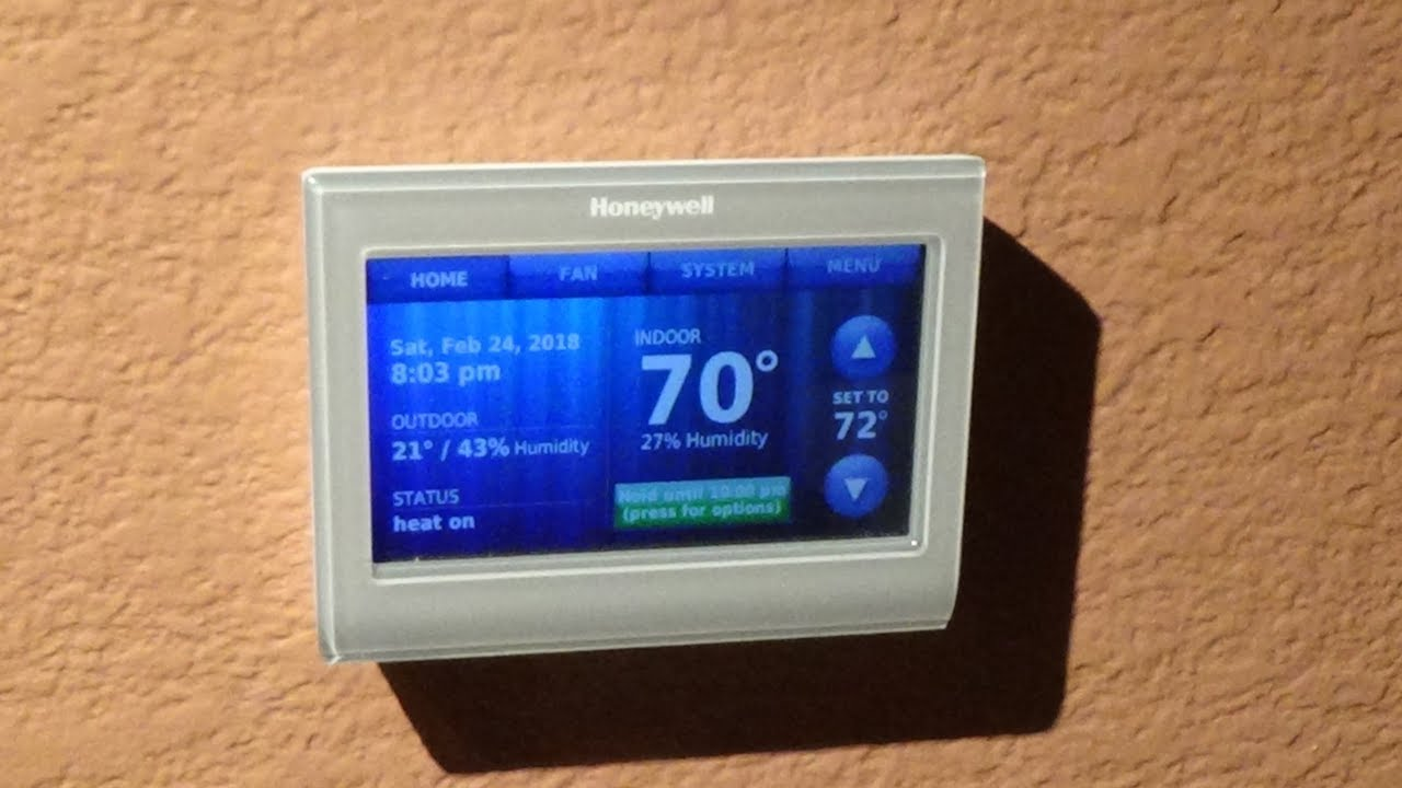 honeywell rth9580 wifi thermostat easy installation [ 1280 x 720 Pixel ]