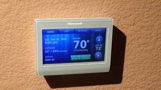 Honeywell RTH9580 WiFi Thermostat EASY Installation