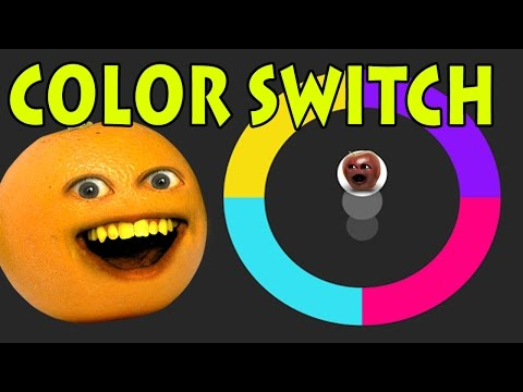 Annoying Orange Plays - Color Switch
