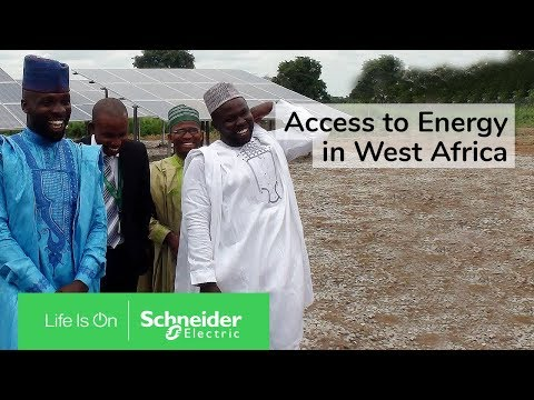 Schneider Electric and GVE Commit to Provide Access to Energy to Everyone in West Africa