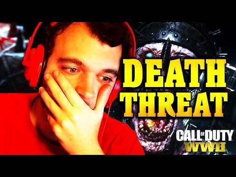 NoahJ456 DEATH THREATS & COD WW2 Zombies Review (Call of Duty WW2 Zombies)