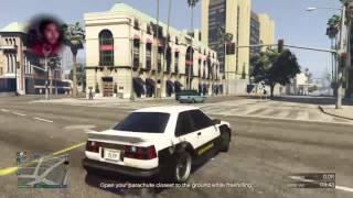 Sakit belakang sehh GTA V PS4 Malaysia
