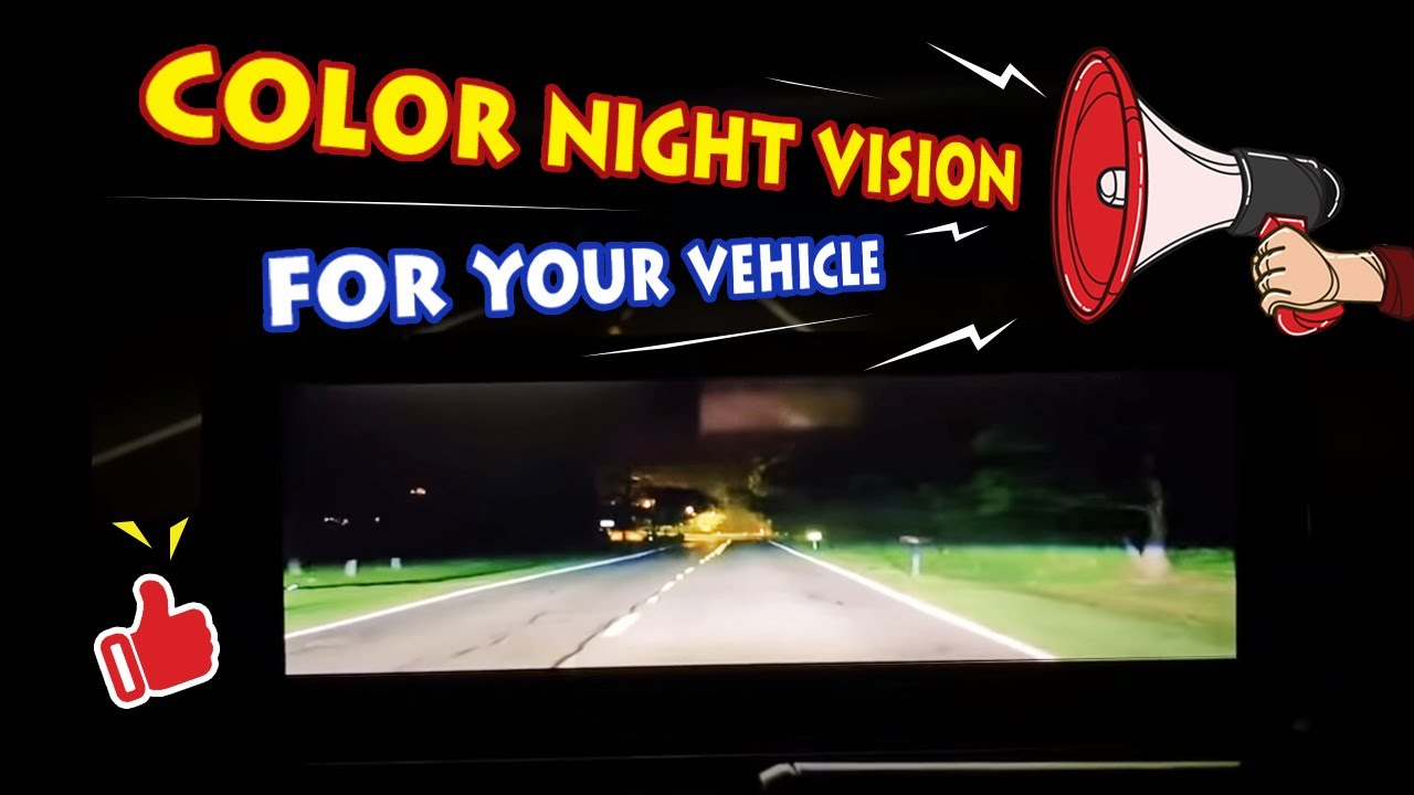 Add Color Night Vision to Your Car—Lanmodo Night Vision - YouTube