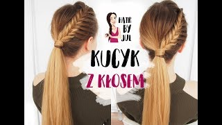 Kucyk z kłosem - hair by Jul