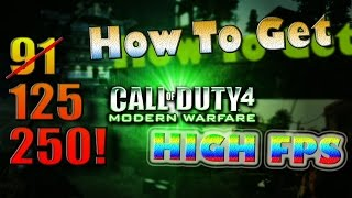 Fps Boost | Call Of Duty 4 | From 20~150 | Get More Kills On Call Of Duty Multiplayer