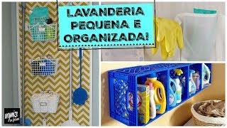IDEIAS PARA ORGANIZAR UMA LAVANDERIA PEQUENA | Organize sem Frescuras!