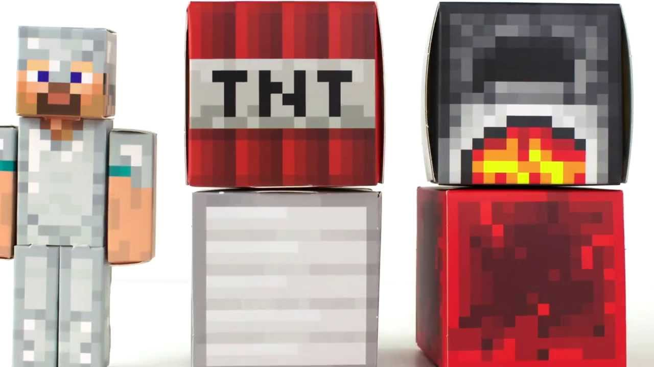 Papercraft Minecraft Papercraft Toy! - Awesome!