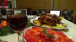 Наше Рождество в кругу семьи.Рождество в Турции?! Рецепт курицы и грибов!