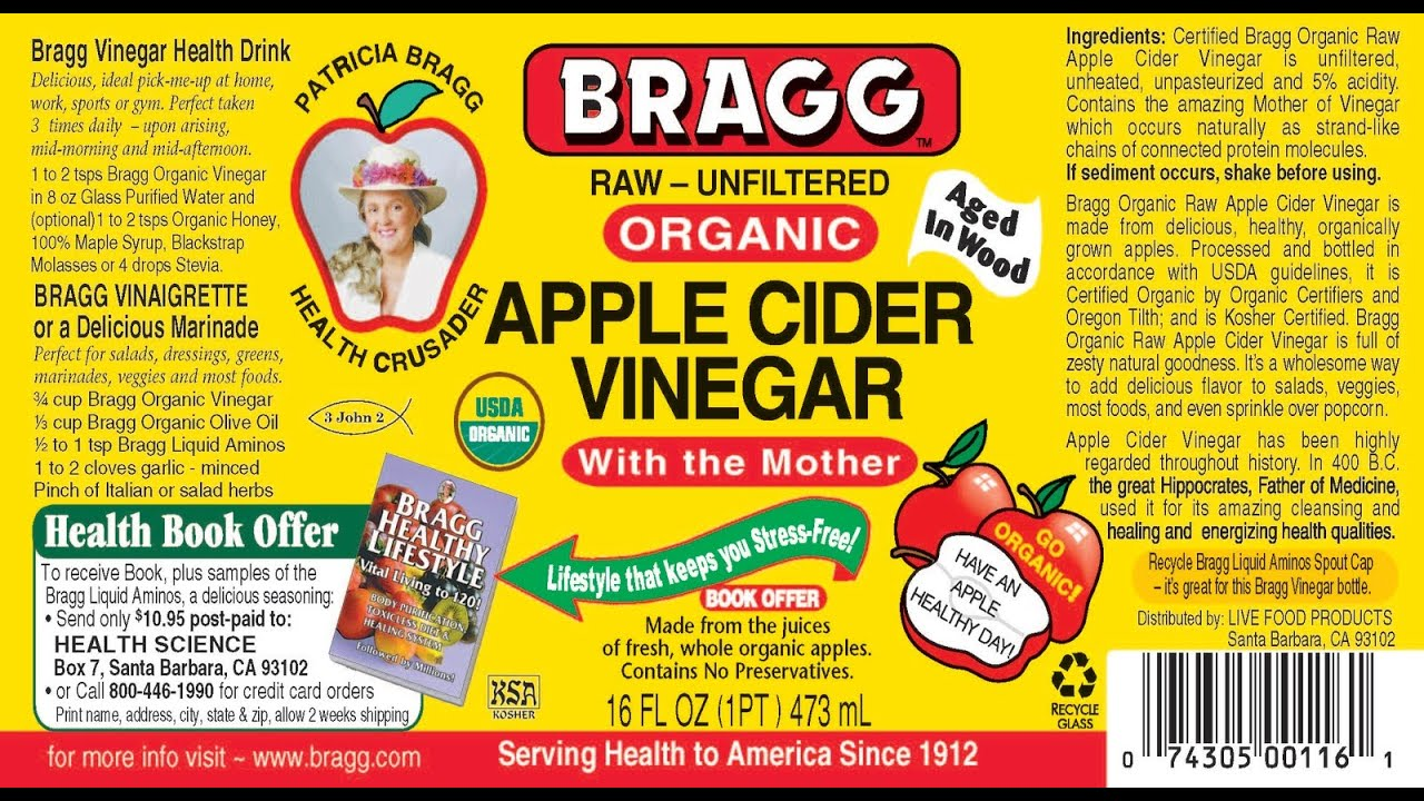 How To Drink Apple Cider Vinegar And Its Health Benefits ...