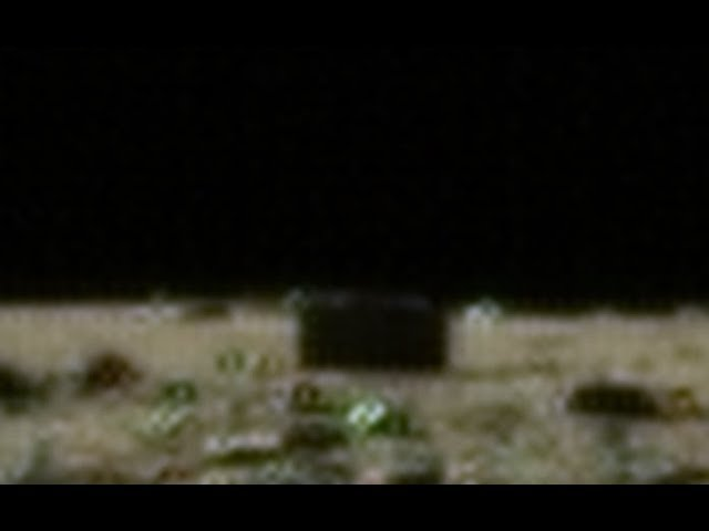 Black Rectangle on Three Chang'e 3 Moon Photos (Linked).