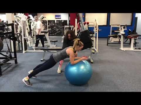 New U Fitness Kensington MD - Dynamic Ball Balancing