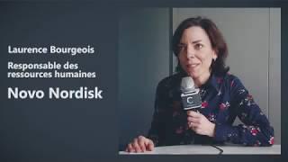Novo Nordisk France - Laurence Bourgeois parle de son métier de responsable des ressources humaines