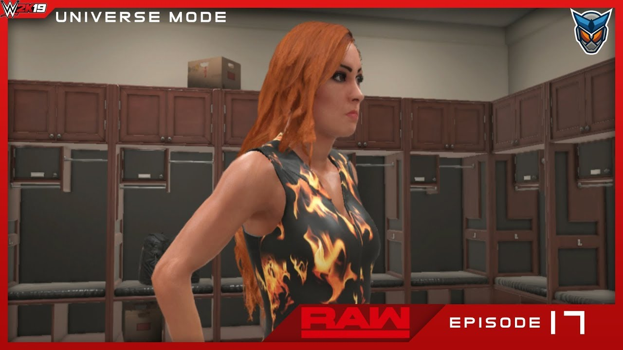 WWE 2K19 Universe Mode Raw Episode 17: Determined